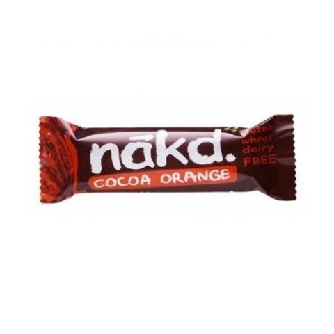 Cocoa Orange - Nakd Raw Fruit & Nuts Bars 35g